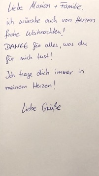 Frohe Weihnachten Brief.Frohe Weihnachten Erfahrungen Marion Daghan Malenky